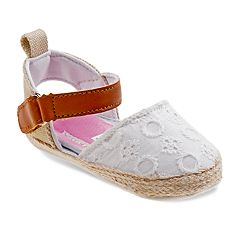 Laura Ashley Baby Girls' Espadrille Sandals