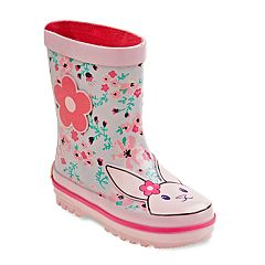 Laura Ashley Bunny Girls' Waterproof Rain Boots