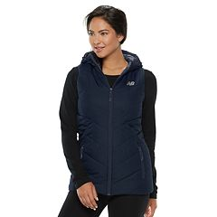 Women's New Balance Hooded Quilted Vest