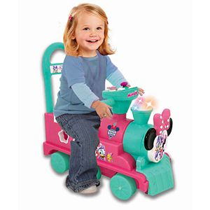 Disney's Minnie Mouse Play n' Sort Activity Train Ride-On Vehicle by Kiddieland