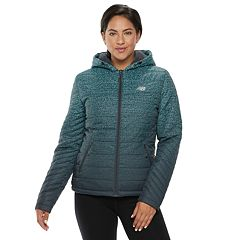 Women's New Balance Hooded Quilted Puffer Jacket