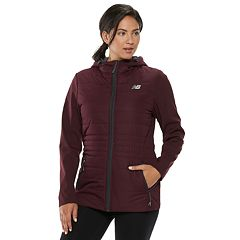 Women's New Balance Hooded Soft Shell Puffer Jacket