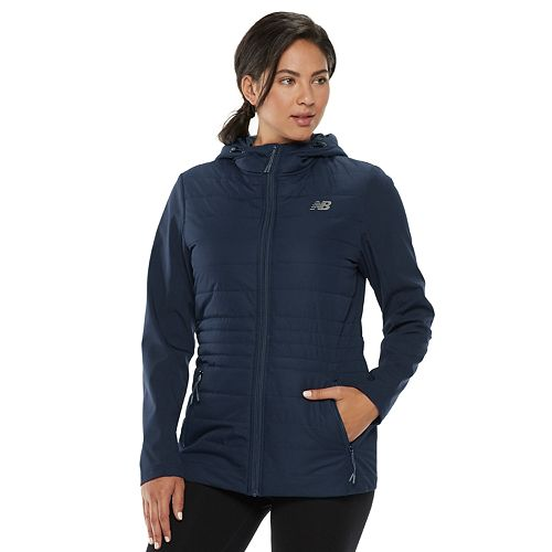 Women's New Balance Hooded Soft Shell Puffer Jacket