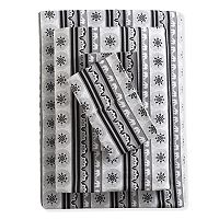 Grand Collection Garment Washed Cotton Print Sheet Set