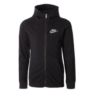Boys 4-7 Nike Embroidered Zip Hoodie