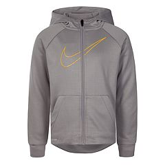 20e2fc680160 Boys 4-7 Nike Dri-FIT Zip-Front Hoodie. Game Royal Atmosphere Gray  Anthracite