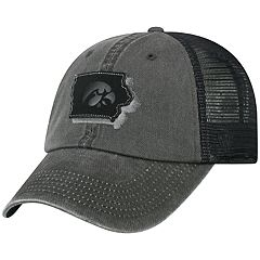 Adult Top Of The World Iowa Hawkeyes Land Vintage-Washed Cap