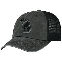 Adult Top Of The World Michigan State Spartans Land Vintage-Washed Cap