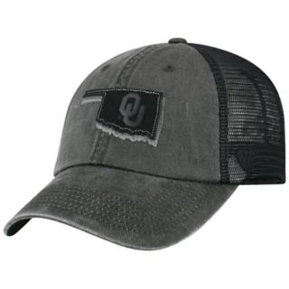Adult Top of the World Oklahoma Sooners Land Vintage-Washed Cap