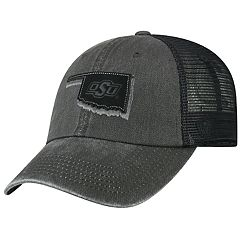 Adult Top Of The World Oklahoma State Cowboys Land Vintage-Washed Cap