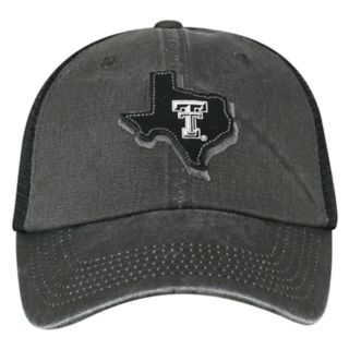 Adult Top of the World Texas Tech Red Raiders Land Vintage-Washed Cap