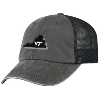 Adult Top of the World Virginia Tech Hokies Land Adjustable Cap