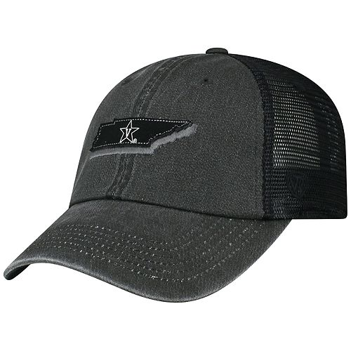 Adult Top of the World Vanderbilt Commodores Land Vintage-Washed Cap