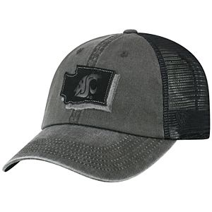 Adult Top of the World Washington State Cougars Land Vintage-Washed Cap