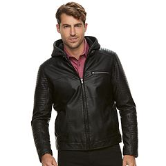 Men's Rock & Republic Faux-Leather Jacket