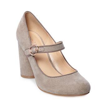 445df28d39e1 LC Lauren Conrad Pecan Pie Women s High Heel Mary Jane Shoes