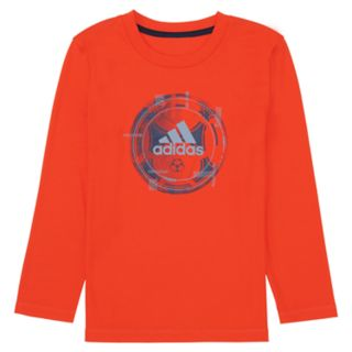 Boys 4-7x adidas climalite Abstract Soccer Ball Graphic Tee