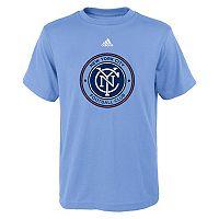 Boy's 8-20 adidas New York City FC Logo Tee