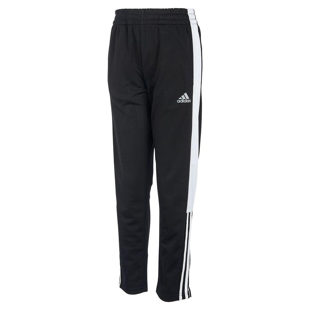ee0320f185f0 Boys 4-7x adidas climalite Pieced Tricot Pants