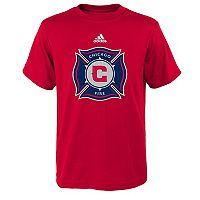 Boy's 8-20 adidas Chicago Fire Logo Tee