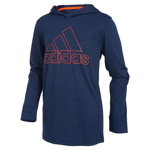 Boys 4-7x adidas climalite Coast to Coast Hooded Pullover