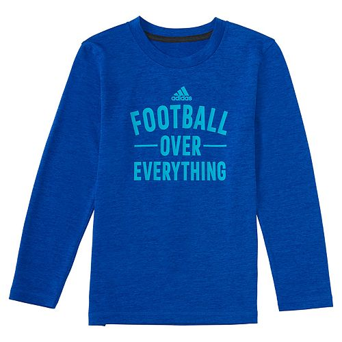 Boys 4-7x adidas Long-Sleeve Sports Collage Graphic Tee