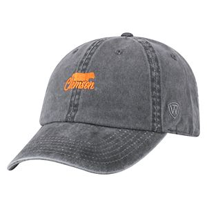 Adult Top of the World Clemson Tigers Local Adjustable Cap