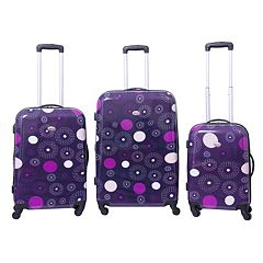 American Flyer 3-Piece Hardside Spinner Luggage Set