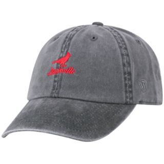 Adult Top of the World Louisville Cardinals Local Adjustable Cap