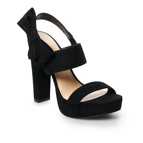 LC Lauren Conrad Apple Pie Women's Platform High Heels