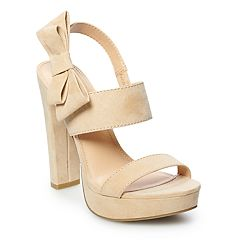 LC Lauren Conrad Apple Pie Women's Platform High Heels