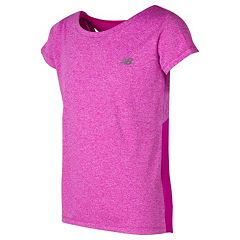 Girls 7-16 New Balance Racerback Cutout Tee