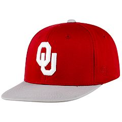 Youth Top of the World Oklahoma Sooners Maverick Cap