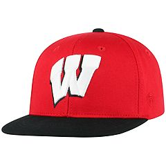 Youth Top of the World Wisconsin Badgers Maverick Cap