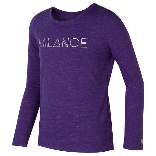 Girls 7-16 New Balance Long Sleeve Performance Top