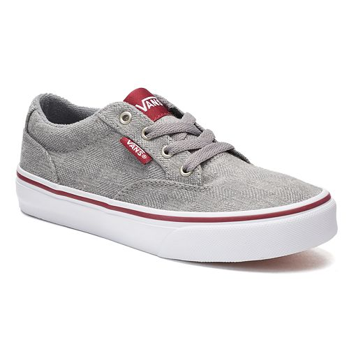 42a9c7b423f Vans Winston Boys  Skate Shoes