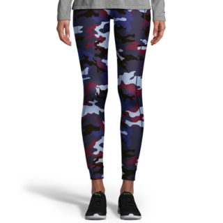 Women's Champion Gym Issue Camo Print Mid-Rise Leggings