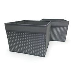 Simple by Design 2-pack Closet Organizer Bins