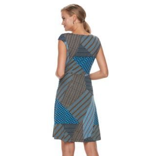Women's Dana Buchman Twist Knot Fit & Flare Dress