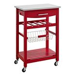 Linon Clarke Kitchen Bar Cart