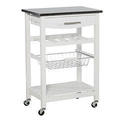 Linon Clarke Kitchen Bar Cart