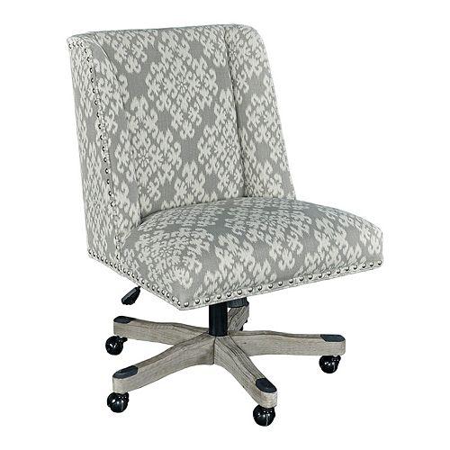 Linon Dobby Adjustable Office Desk Chair