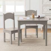 Linon Sophie Kids Table & Chair 3-piece Set