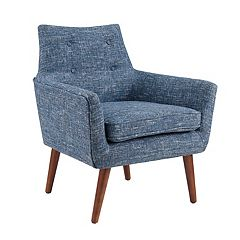 Linon Ava Tufted Accent Chair