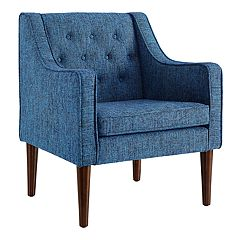 Linon Noda Tufted Arm Chair