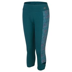 Girls 7-16 New Balance Moisture-Wicking Performance Capri Tights