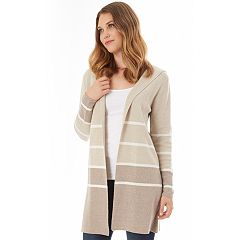Women's Apt. 9® Striped Car Coat