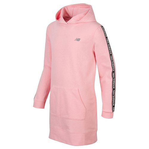 Girls 7-16 New Balance Hooded Sweatshirt Dress