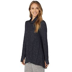 Women's Cuddl Duds Soft Knit Cowlneck Top