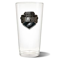 Philadelphia Eagles Super Bowl Champions 22-Oz. Pint Glass